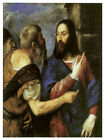 Decor Poster. Fine Graphic Art. Christ The Messiah. Religious Wall Design 1364