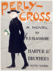 Decor Poster.Fine Graphic Art.Novel cover Perly Cross.Home Wall Design. 1425