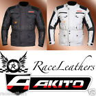 AKITO DESERT TRIPLE LAYER MOTORCYCLE SCOOTER MOTORBIKE BIKE TOURING JACKET