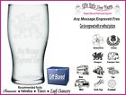 Engraved Pint Glass Personalised God Parent Birthday-Christmas  Gift - IM1