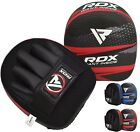 Authentic RDX Leather Gel Tech MMA UFC Grappling Gloves Fight Boxing Punch Bag G