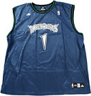 NBA Minnesota Timberwolves McCants #1 Adidas Replica Jersey | Blue