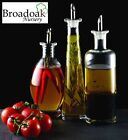 GLASS OIL & VINEGAR BOTTLE WITH DRIZZLER POURER SPOUT -Various Sizes & Styles...