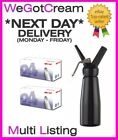 8g Nitrous Oxide Whipped Cream Chargers Canisters & Dispensers - N2O