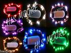 20 LED Battery 2m long CW string fairy light in 9 COLOURS! Weddings, events