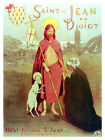 Saint Jean du  Doict  Religious Decor Poster.Graphic Art Interior design 3243
