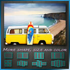 ' Campervan and Surfboard ' Modern Contemporary Abstract Art Deco Canvas Box