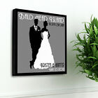 WEDDING PERSONALIZED CANVAS! GREAT FOR RECEPTION -14x14 FREE SHIPPING!