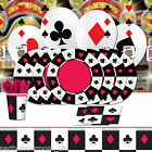 Casino Party Playing Card Suit Balloons Decorations Tableware One Listing PS