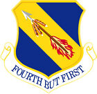 STICKER USAF   4TH FIGHTER WING
