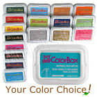 MY FIRST COLORBOX washable kids ink stamp pad inkpad child-safe Clearsnap