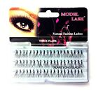 X 3 Packets MODEL LASH Natural Fashion Individual Lashes THICK FLARE The Best***