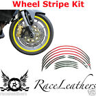 MOTO MOTORCYCLE WHEEL STRIPE KIT FOR 17 INCH WHEELS REFLECTIVE OR STANDARD