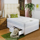 "*NEW* 3FT 6"" LARGE SINGLE MEMORY FOAM DIVAN BED SPRUNG MEMORY FOAM MATTRESS"