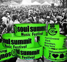 SOUL SUMMIT music GREEN Wristband SHOW your SUPPORT house music brooklyn LIMITED