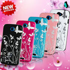 NEW STYLISH GRIP SERIES BUTTERFLY HARD CASE COVER for HTC ONE S