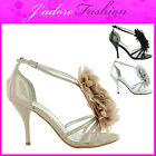 NEW LADIES SEXY GORGEOUS OPEN TOE HIGH HEEL EVENING PARTY SANDALS SIZES UK 3-8