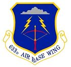 STICKER USAF 663rd Airbase Wing
