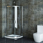 High Quality Quadrant Shower Enclosures 800/1000 Cubical Corner with Stone Tray