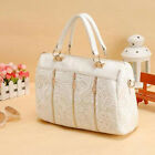 New Fashion Hot Street Tote Shoulder Bag Handbag Linen Purse Tassel Chain
