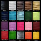 30 Mtrs 1mm , 1.5mm Waxed Cotton Thong Cords - Various Colour & Size
