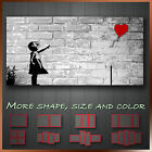 ' Balloon Girl Banksy ' Graffiti Art Canvas Box More Color & Style & Size