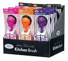 The Bone Collector Skull Kitchen Scrubby Brush in 4 Colors by Boston Warehouse