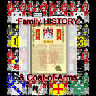 Armorial Name History - Coat of Arms - Family Crest 11x17 DAHL-TO-DUGAN