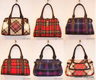 Heritage of Scotland Stylish Tartan Hand Held Bags 100% Wool Outer Available