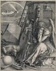 Melencolia I Albrecht Durer  Art Photo/ Poster Repro Print Many Sizes  A0/85cm/