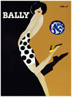 Decorative Poster. Fine Graphic Home Art Design. Bally. Sexy Pinup . 2676