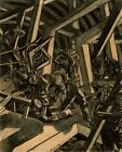 Sappers At Work Canadian Tunnelling Company R14 St Eloi Bomberg David 1919 Art P