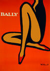 Decor Poster.Fine Graphic Home Art Design.Bally pinup cover.Studio décor. 2708