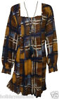 NEW LADIES WOMANS AUTUMN WINTER PRINT LONG TOP/TUNIC PLUS SIZE 20 TO 30 UK