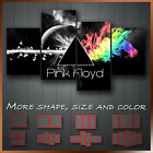 ' Pink Floyd Dark Side Of The Moon ' Icon Decorative Wall Art Canvas ~ 4 Panels