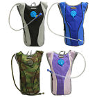 WOODSIDE 2L HYDRATION PACK WATER RUCKSACK/BACKPACK CYCLING/HIKING BLADDER BAG