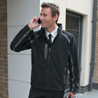 Result TECH Performance Signature Mens Fleece Lined Jacket BLACK