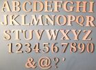 WOODEN LETTERS & NUMBERS 2cm tall 1mm thick Plus Other SIZES & Paper Mache etc