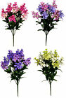 50cm 12 Stem Hyacinth Bouquet Artificial Silk Flowers Wedding Memorial