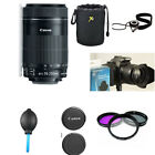 Canon EF-S 55-250mm 55-250 IS IMAGE STABILIZER Lens KIT F...