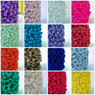 POM POM BOBBLE TRIM - MEDIUM SIZE 10mm  ALL COLOURS  sold by the metre