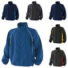New FINDEN & HALES Piped Showerproof Training Jacket in 6 colours XS - XXL