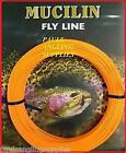 Fly Fishing Line Mucilin CA115 Orange Floating Weight Forward - All Sizes