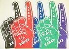 Darts Yeah 180  Giant Foam Hand Pointy Finger Packs Of 5