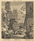 6x4 7x5 8x6 inch Reproduction Beer Street William Hogarth Other Sizes Avail