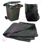 "BLACK PLASTIC POLYTHENE WHEELIE BIN LINERS 30x46x54"" CHEAP *MULTI ITEM LISTING*"