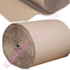 600m HIGH CARDBOARD CORRUGATED WRAPPING PAPER ROLLS CHEAP *SELECT LENGTH + QTY*