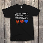 Retro 80's 'video Games Ruined My Life' Classic C64 Computer T-shirt Size To 5xl