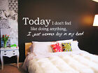 Bruno Mars the Lazy song wall art sticker
