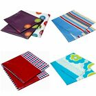 "2 PACK PATTERNED TABLE CLOTHS Plastic 71""x54"", 180x137cm - Parties, Picnics, BBQ"